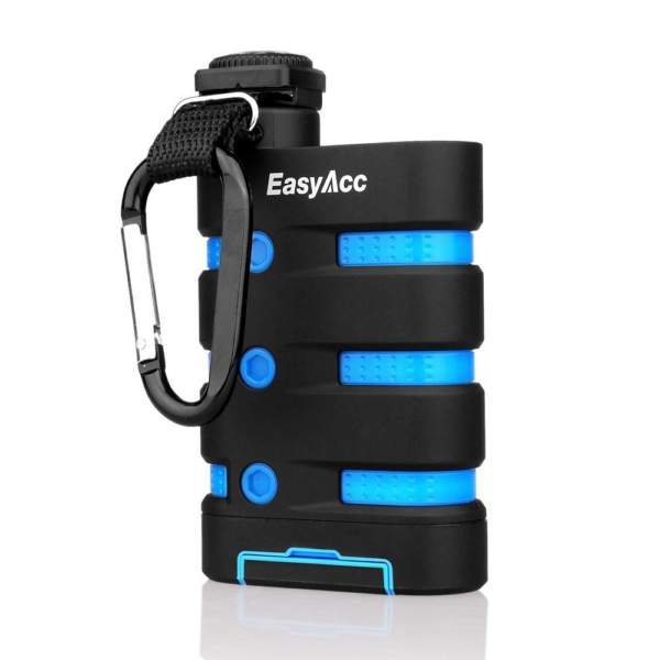 EasyAcc-9000mAh-Powerbank-Waterproof-Battery-Charger