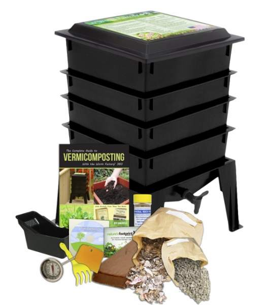 Worm-Factory-WF360B-Worm-Composter