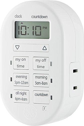 GE-My-Touchsmart-26892-Digital-Plug-In-Timer