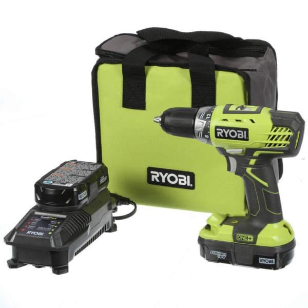 Ryobi One+ 18V Drill kit